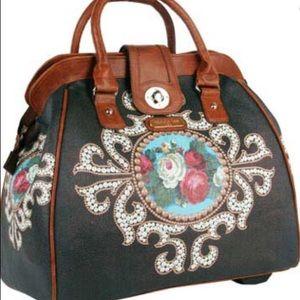 Nicole Lee Rolling Bag